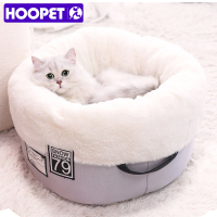 HOOPET Cat Bed Bench for Cats Soft Material House for Cat Nest Winter Warm Kennel For Puppy