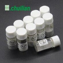 1 pcs 0.25 0.76 MM Sn63 Pb37 25 k Loodhoudende Soldeer ballen fles Soldeer Bal voor BGA reballing gereedschap