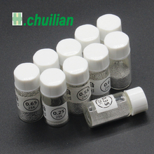 1 pcs 0.25 0.76 MM Sn63 Pb37 için 25 k Kurşunlu Lehim topları şişe Lehim Topu BGA reballing araçları