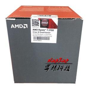 Image 3 - AMD Ryzen 7 2700 R7 2700 3.2 GHz Eight Core Sinteen Thread CPU Processor L3=16M 65W YD2700BBM88AF Socket AM4 New and with fan