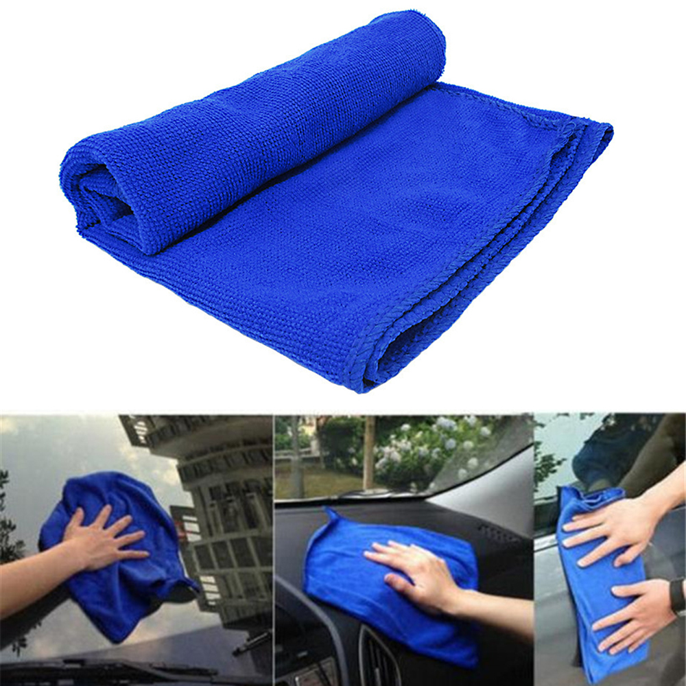 Car Wash Accessories Gentle 30*30cm Soft Microfiber Cleaning Towel Cloth Car Wash Auto Dry Clean Polish Cloth Wholesale By Scientific Process Back To Search Resultsautomobiles & Motorcycles