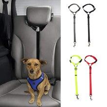 Dog Car Seatbelts Adjustable Pet Seat Belt for Vehicle Nylon Pet Safety Seat Belts Heavy Duty  Durable Car Seat Belt for Dogs недорого