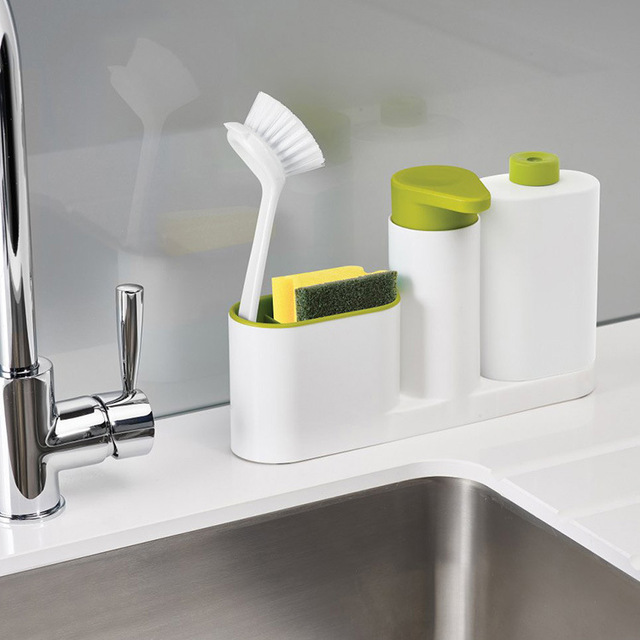 kitchen sponge holder detergent box rack dish storage rack bathroom organizer stands soap jewelry rack - Kitchen Sponge Holder