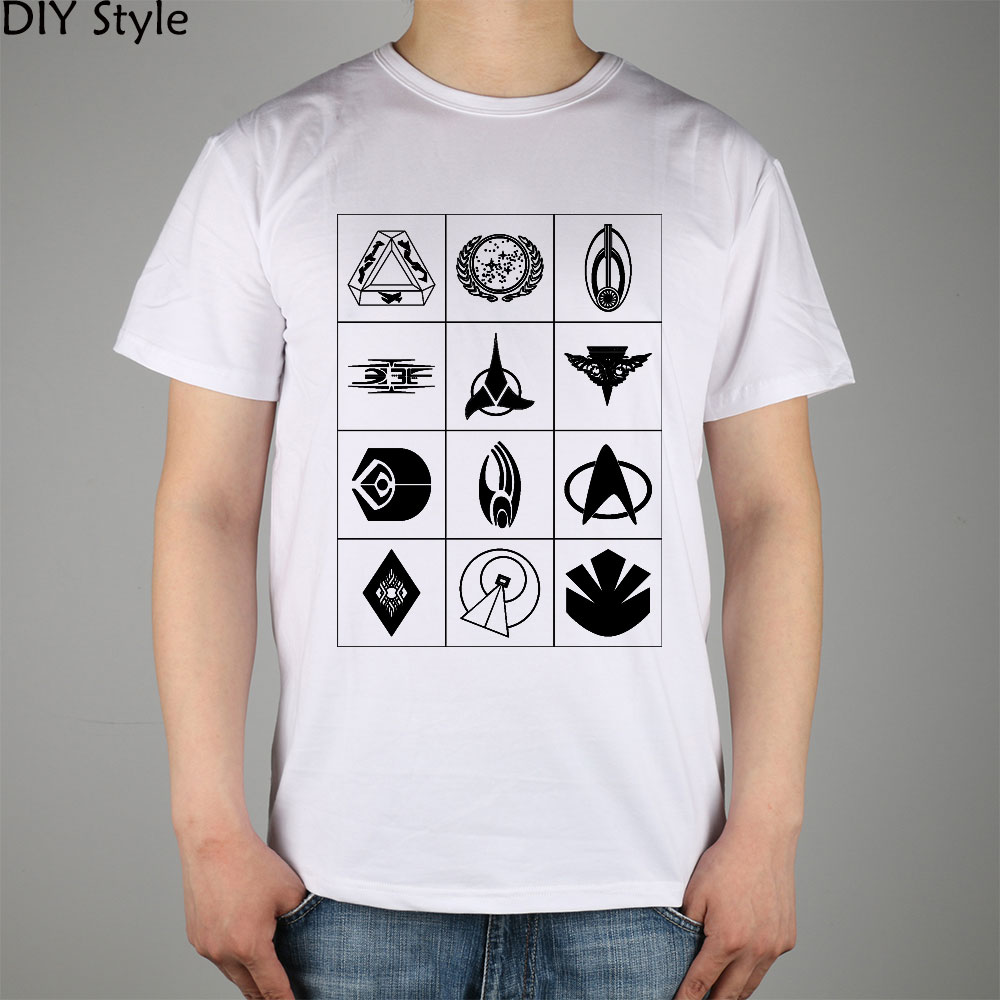 b657ab456 Star Trek Symbols T shirt Top Lycra Cotton Men T shirt New Design High  Quality-in T-Shirts from Men's Clothing on Aliexpress.com | Alibaba Group