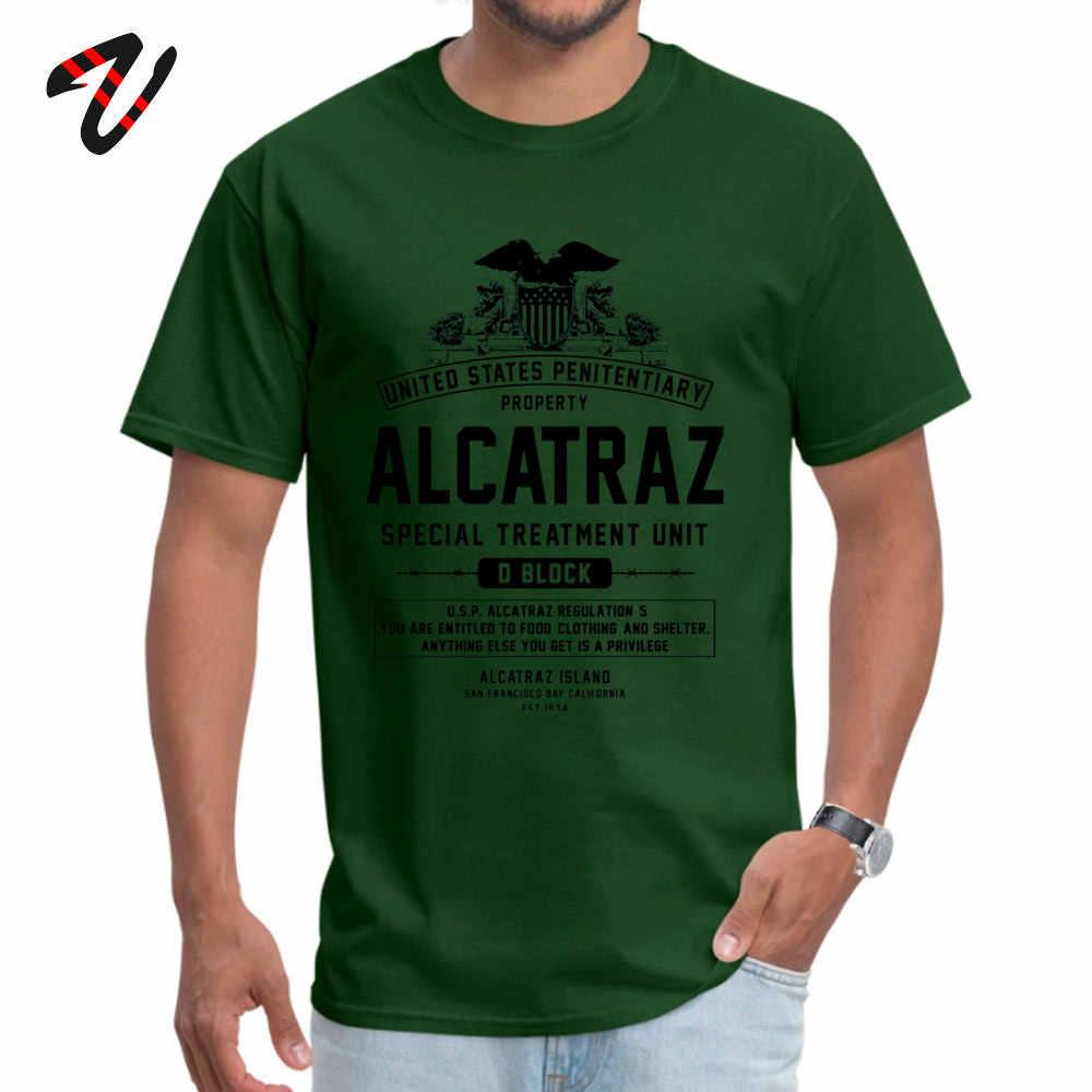 ALCATRAZ S.T.U. Icône tissu homme Linux manches t-shirt décontracté ostern jour t-shirts Hip hop t-shirts en vente o-cou