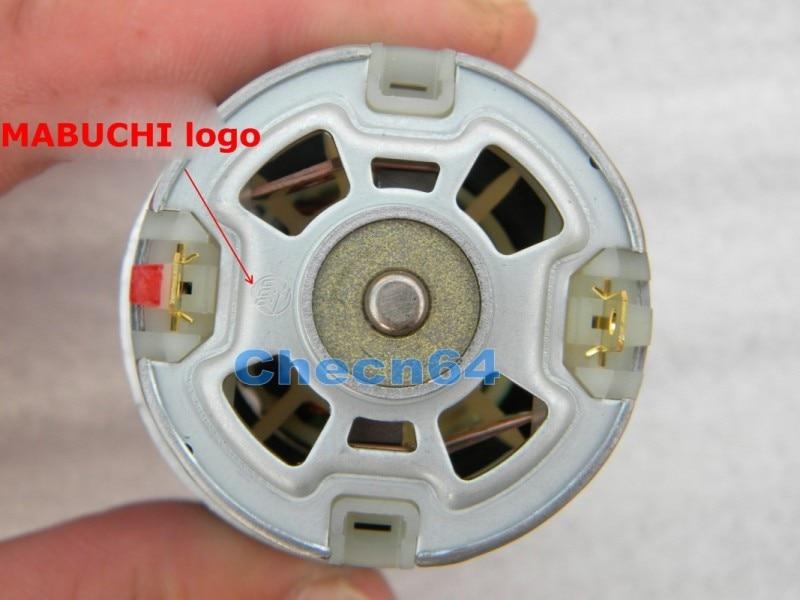 Image 2 - MABUCHI RS 775VC 775 8015 sierra eléctrica Motor de alta velocidad cc 12V 18V 18200RPM potencia nominal 208W-in Monitor DC from Mejoras para el hogar on AliExpress