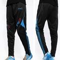 Брюки Мужские Ноги Jogger Тренировочные Брюки Мужские Тощие Бегунов Костюм Полиэстер Панталони Calcio Горячие