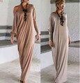 Makuluya 2016 Европа осень новый длинными рукавами свободные платье грейс женщины платья БЕСПЛАТНЫЕ ПОДАРКИ