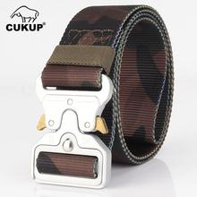 CUKUP 4.5cm Width Unisex Multi Function Military Fan Quick Release Buckle Training Outdoor Thickening Nylon Belts 2018 CBCK131