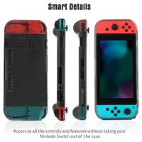 protective tpu Protective Case Cover for Ninten-do Switch, Comfortable Soft TPU Grip Case and Ergonomic Anti-Scratch Shock-Absorption Cover fo (4)