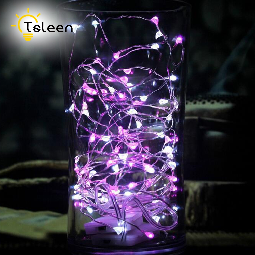 Online get cheap outdoor battery powered fairy lights aliexpress tsleen 2m 20led 3aa battery powered outdoor timer led silver color copper wire fairy string lights aloadofball Image collections