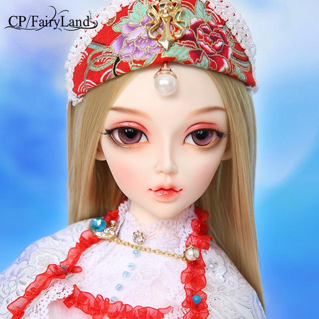 Fairyland FL Feeple60 moe Chloe baby dolls silicone  bjd 1/3 body model  girls boys dolls eyes resin