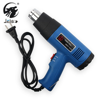 JelBo 1500W Heat Gun Adjustable Hot Air Gun Air Soldering Station 220V Shrink Wrapping Thermal Power Tool Industrial Glue Guns