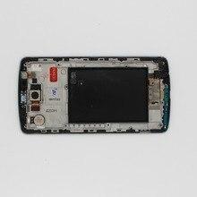 Oudini 100% oryginalne do LG G3 LCD Digitizer ekran dotykowy z ramką wymiana oryginalny D850 D851 D855 lcd mają kamery