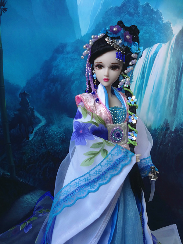 32cm Collectible Girl Dolls Traditional Chinese Ancient Fashion Doll Toys with realistic 3D Eyes Limited Edition32cm Collectible Girl Dolls Traditional Chinese Ancient Fashion Doll Toys with realistic 3D Eyes Limited Edition