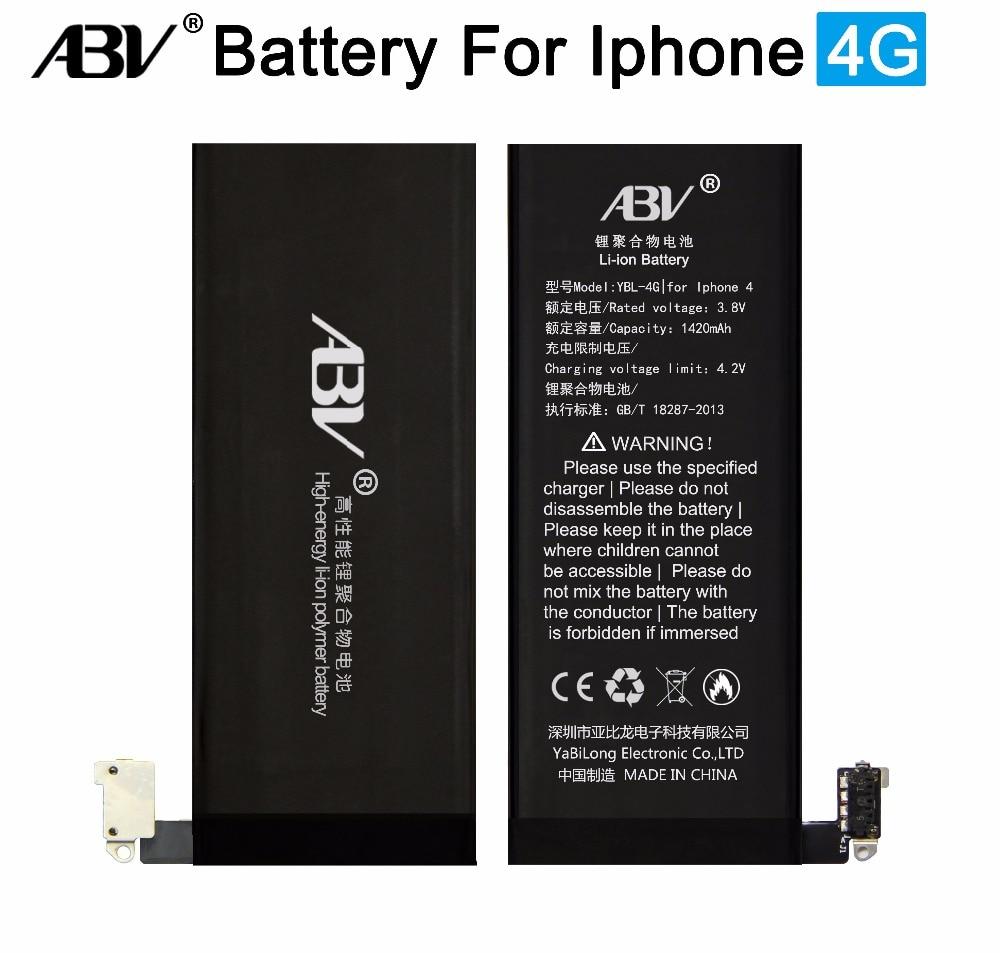 2018 Baru Asli ABV Bateria iPhone 4 Baterai Pengganti untuk Apple Iphone 4  iPhone 4 4G fd37c77207