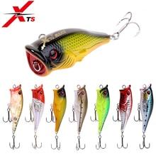 XTS Fishing Lure 11.2g 70mm Wobblers ABS Material Artificial Hard Popper Bait Floating Plastic Jerkbait 5201