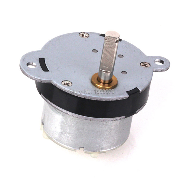EBOWAN Electric 3RPM Reversing High Torque Geared 12v DC Motor For Toys RC Car Robot DIY House Appliance Parts