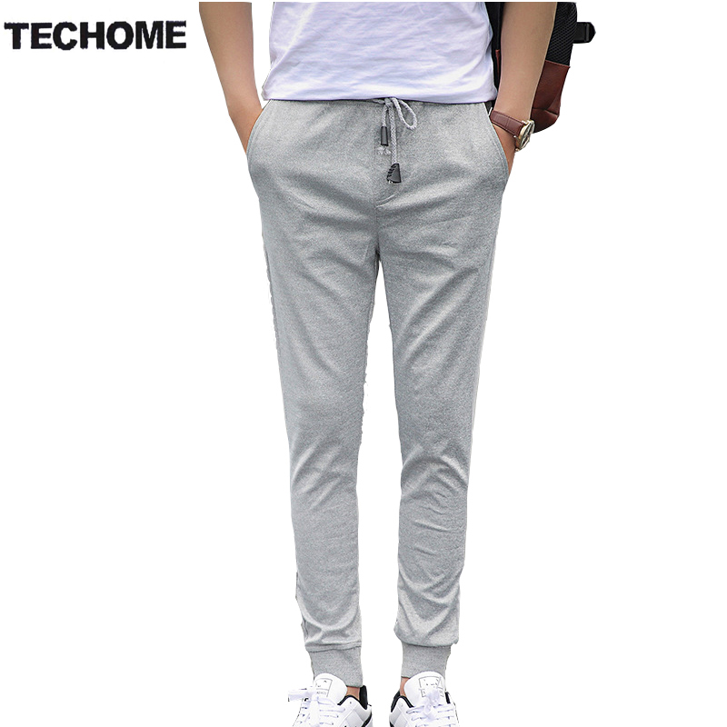 Men Pants Summer-Style Clothing Out-Door Haren High-Quality 5XL Slim