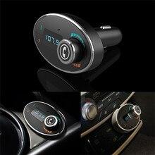 Надежный Мода Беспроводной LCD Bluetooth Car Kit Mp3-плеер Fm-передатчик USB Зарядное Устройство Громкой Связи Ma12