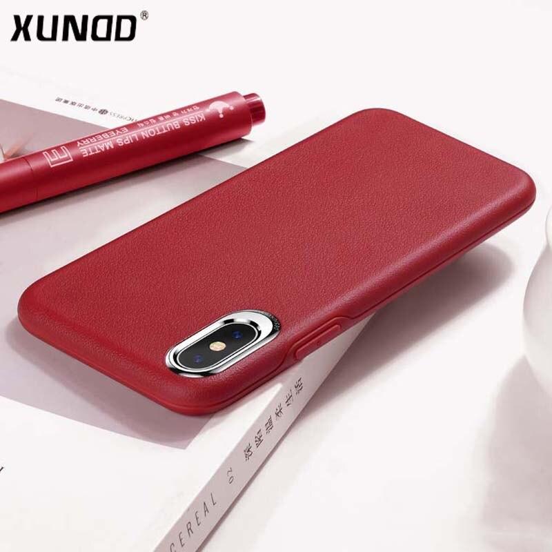 Новые Xundd Роскошные Бизнес чехол для Iphone х PC + TPU цинковый сплав защищает Камера задняя крышка для Iphone X 10 случае Fundas