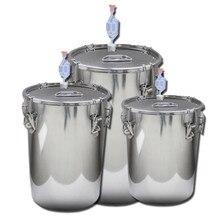 XMT-HOME 20 л термостатический пивоваренный спирт вино делая ферментер гидравлические уплотнения запечатанная вода ферментированный бак 1 шт