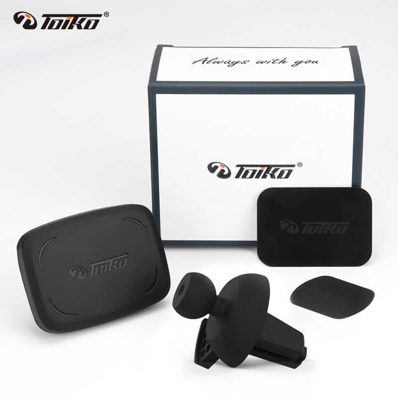TOIKO магнитный автомобильный держатель для Xiaomi huawei мобильный видеорегистратор вентиляционное отверстие крепление магнит подставка gps универсальный TK-AV5