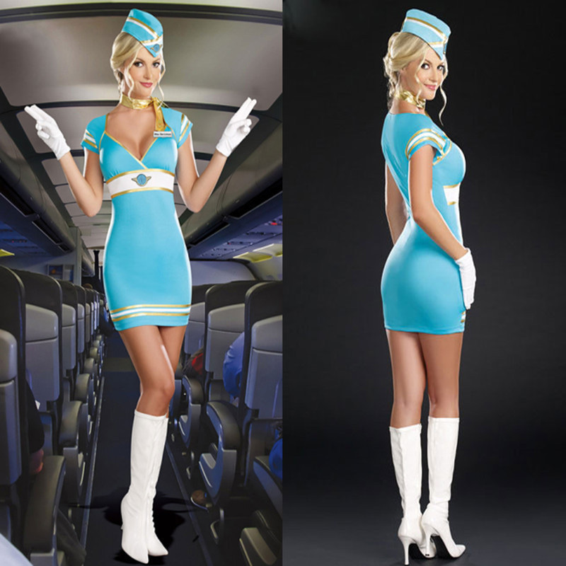 Sexy Pilot Girl Image Photo