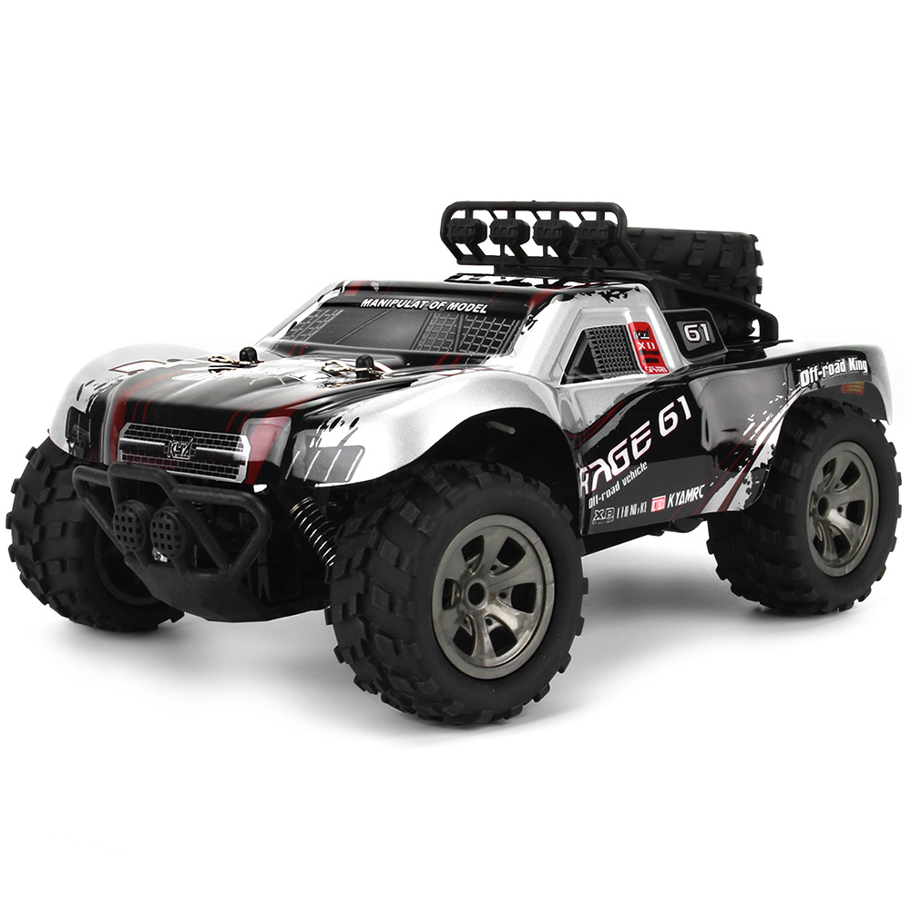 2.4G Wireless Remote Control Toy RC Off-Road Car 1:18 Monster Desert Truck 18km/H Drift 4-Channels RC Car RTR Toy Gift2.4G Wireless Remote Control Toy RC Off-Road Car 1:18 Monster Desert Truck 18km/H Drift 4-Channels RC Car RTR Toy Gift