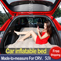 SUV Inflatable Mattress Travel Camping Car Back Seat Sleeping Rest Mattress with Air Pump car sex bed car accessories