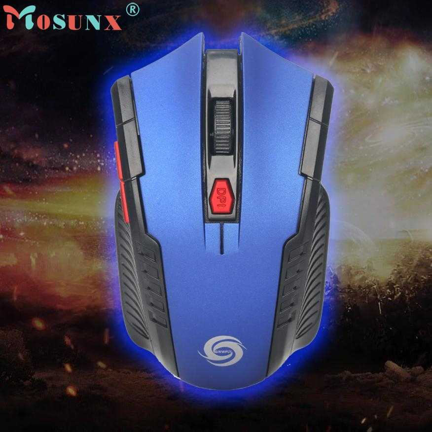 Mouse Raton 2.4Ghz Mini Wireless Optical Gaming Mouse Mice& USB Receiver Gamer PC Laptop Computer Mouse Mice 18Aug2