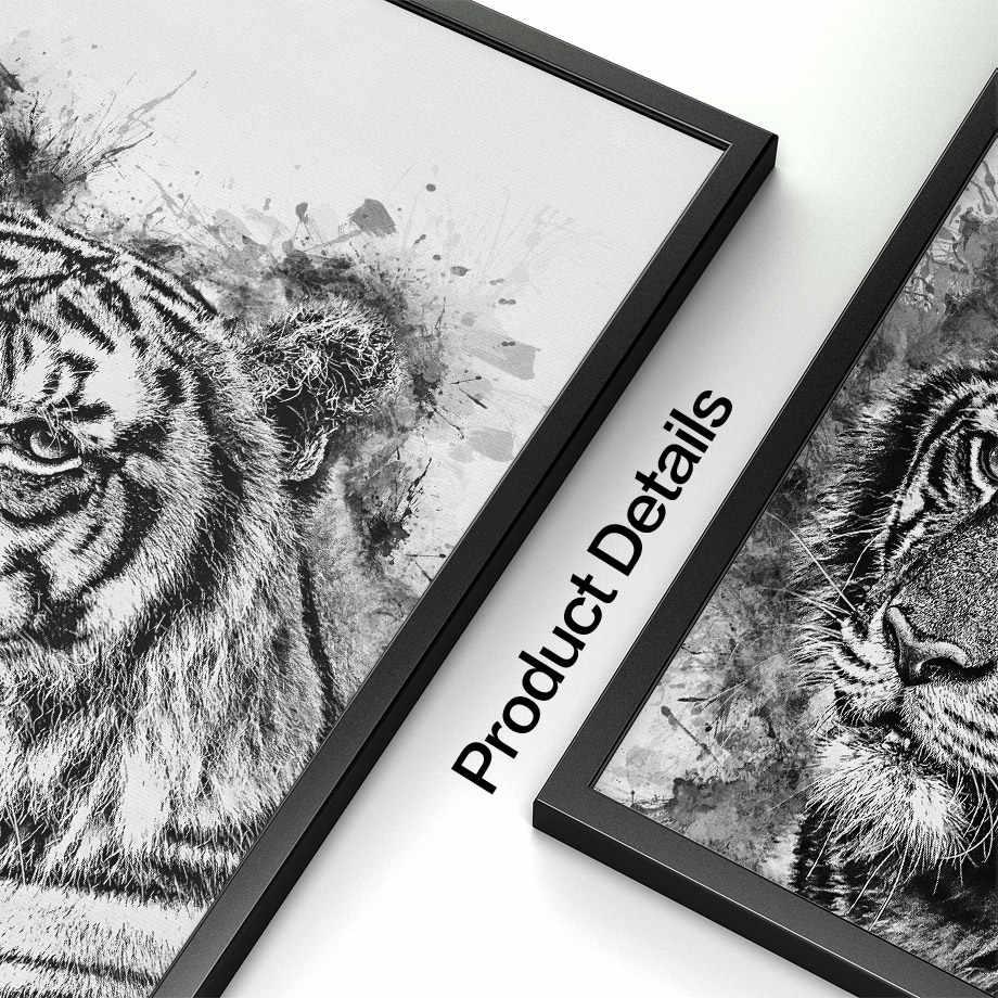 миниатюрный картинки тигров с совами цветы группируются кучками