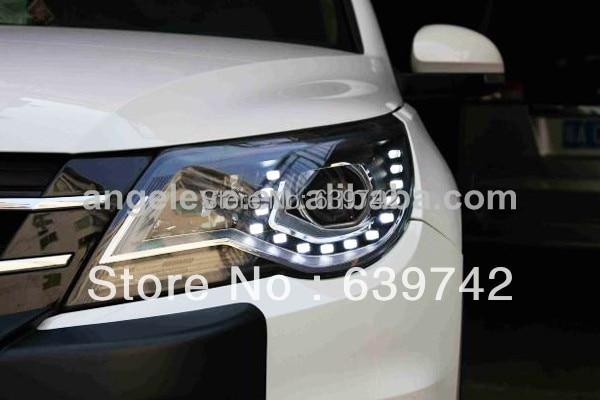 Для VW 2010-2012 року світлодіодні головні - Автомобільні фари - фото 6