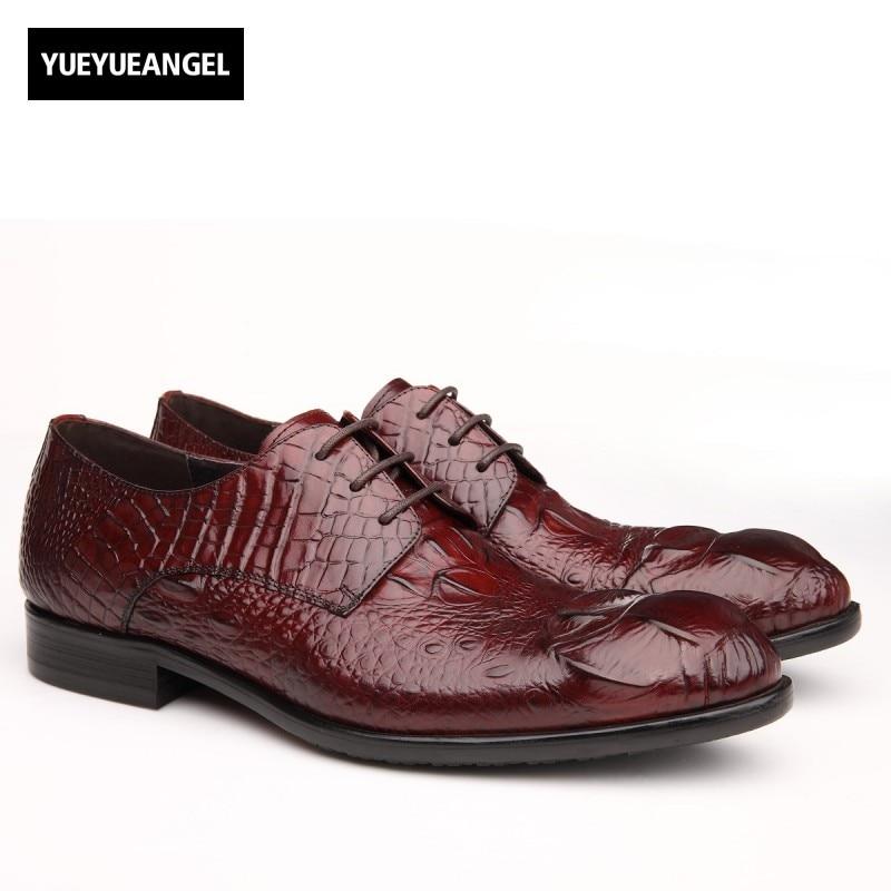 2017 New Fashion Formal Shoes Men Lace Up Pointed Toe Male Footwear Autumn British Vintage Vestido De Couro Chaussure Homme мужской ремень cinto couro marca