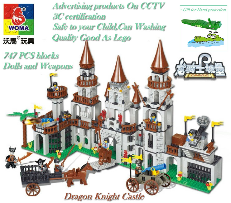 Good Brand Woma Learning Education Building Blocks Of Dragon