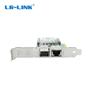 Image 3 - LR LINK 4001PT PF dual port 10 Gb Ethernet PCI E Optic การ์ดเครือข่าย SFP +, RJ45, fiber Media Converter สาม   ใน   หนึ่งชุด