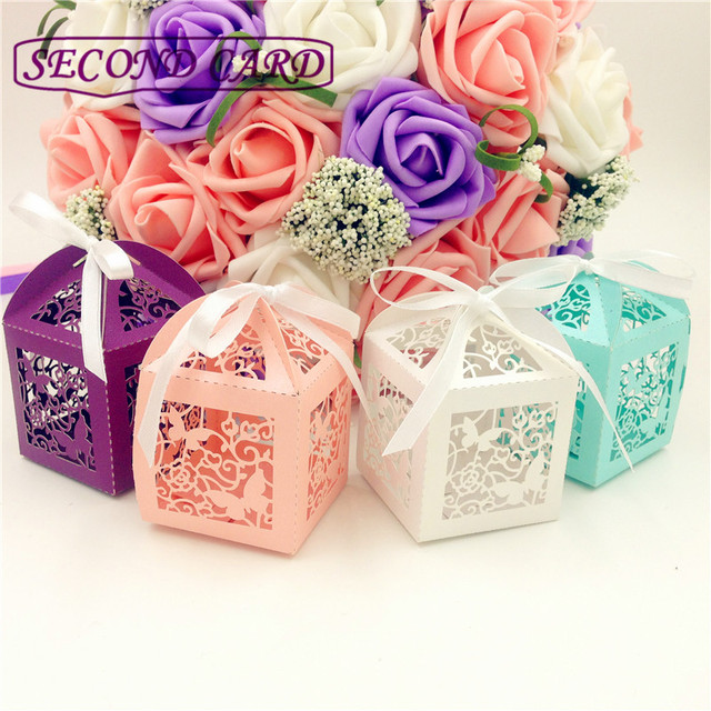 50pcs Wedding Gifts For Guests Wedding Decorations Party Supplies ...