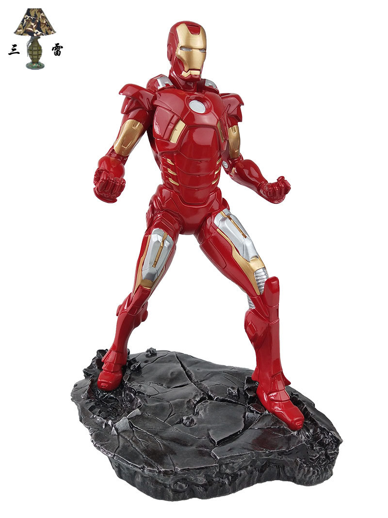 ACTION FIGURE IRON MAN AVENGERS INFINITY WAR IRONMAN 21 CM FIGURINE STATUE MARK