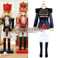 Custom Made The Nutcracker Puppet Stage Costume Imperial Guard Uniform Military Christmas Outfit D1109
