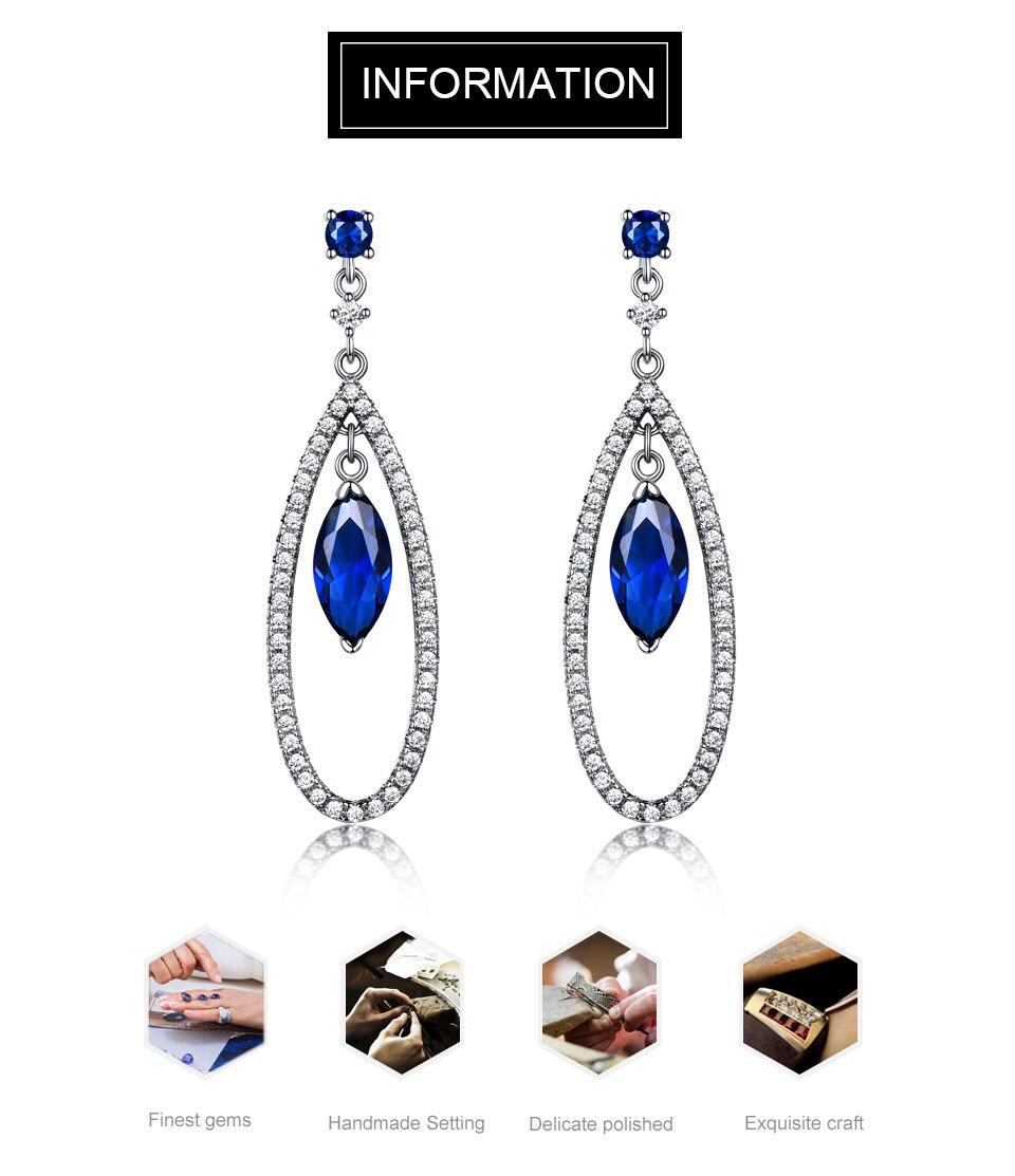 Honyy-925 sterling silver earrings for women EUJ064S-1 (1)