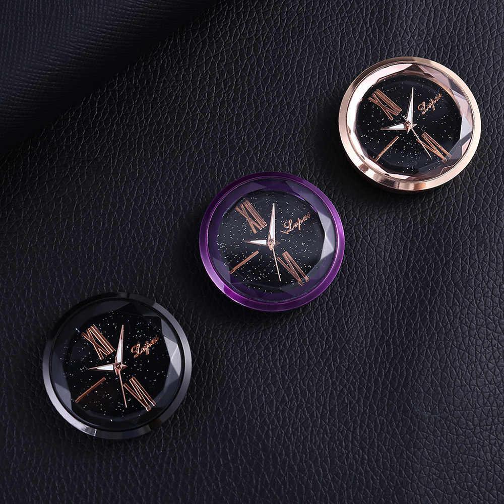 Фото Часы электронные автомобильные кварцевые розетки украшения часы в салон