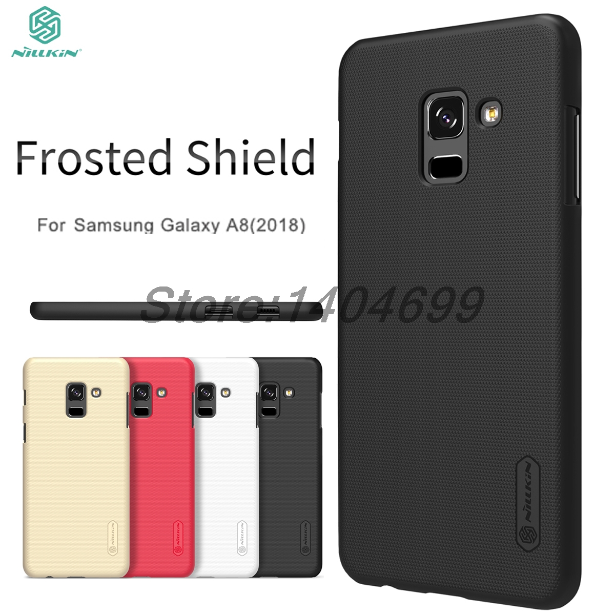 sFor <font><b>Samsung</b></font> Galaxy A8 2018 Case A8 2018 Matte Case Nillkin Frosted Shield Back <font><b>Cover</b></font> Case For <font><b>Samsung</b></font> A8 2018 <font><b>A530F</b></font> image