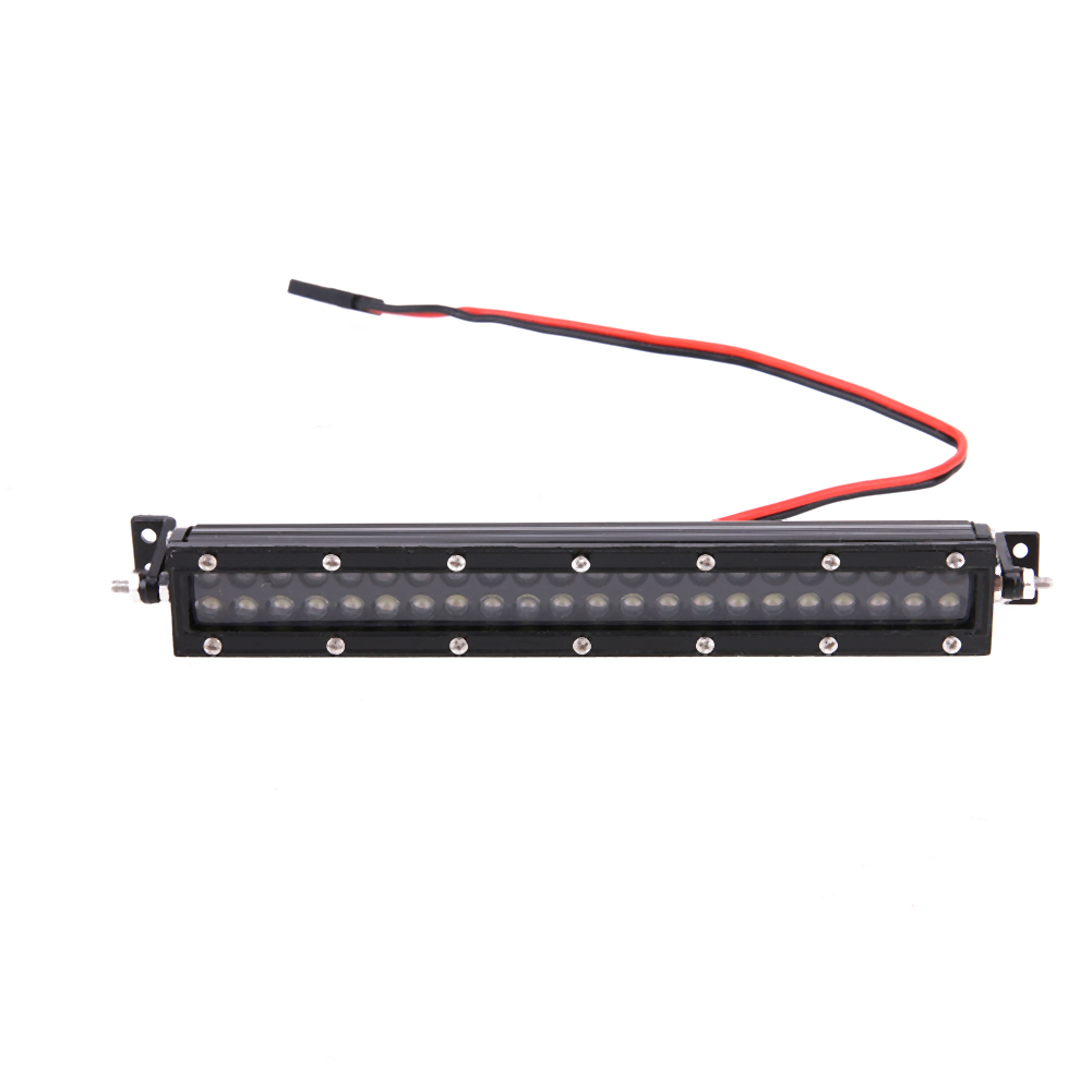 ФОТО High Quality Metal LED Light Bar for HSP 1/10 1/8 RC 4WD Axial SCX10 D90 Crawler for Tamiya RC Parts