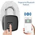 Электрический замок отпечатков пальцев Wifi замок с Bluetooth управлением безопасности цифровой БЕСКЛЮЧЕВОЙ Смарт отпечатки пальцев навесные за...