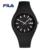 Fila de Luxo Top Marca de Moda de Alta Qualidade Casual Estilo Simples Silicone Strap Relógio de Quartzo Amantes de relógios de Pulso Dos Homens Das Mulheres 38-777