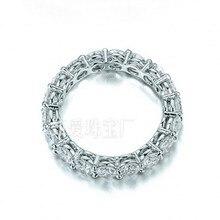 Vecalon Diente conjunto Joyería de Las Mujeres 925 anillo de Plata Anillo de 2 Quilates de Diamantes Simulados Cz Engagement Wedding band Anillos Para Las Mujeres