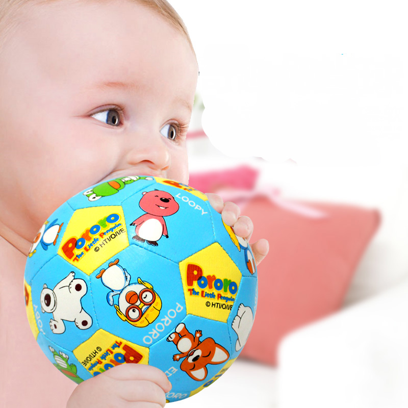 BOHS Gifts for Baby Cartoon Soft Ball Round Shape Rattles Sounding Toys