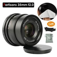7 artisans 35mm F2 Large Aperture Paraxial M-mount Lens for Leica Cameras M-M M240 M3 M5 M6 M7 M8 M9 M9P M10 Free Gift цена в Москве и Питере