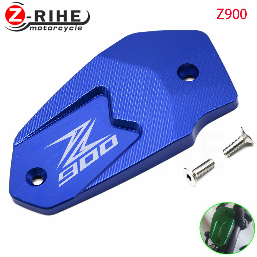 For Kawasaki ER6N ER6F Z800 Versys650 z900 Motorcycle Accessories Aluminum Alloy Motorbike Brake Fluid Reservoir Tank Cap Cover