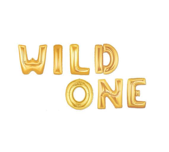 Wild One Balloons